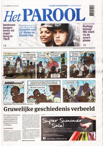 Parool, 25 juni 2015 voorpagina