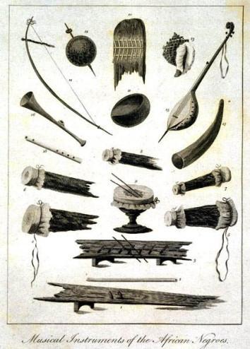 Creole bania en andere instrumenten, Stedman
