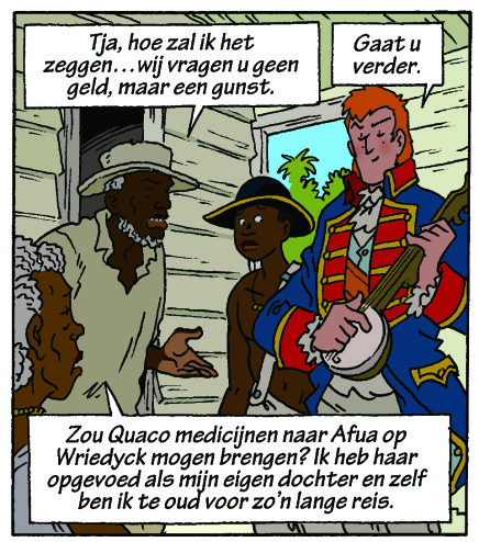 afbeelding strip met banjo