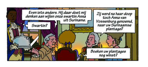 Anna van Vossenburg in strip 63-2
