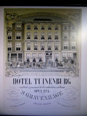 Een logeeradres van Stedman in Den Haag dat hij in zijn dagboek noemt.