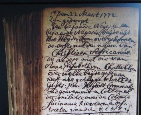 Archief Breda, DTB 22-3-1772.